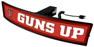 Fan Mats NCAA Guns Up Light Up Hitch Cover