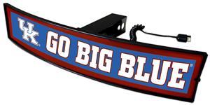 Fan Mats NCAA Go Big Blue Light Up Hitch Cover