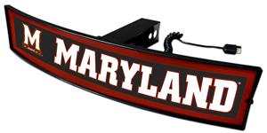 Fan Mats NCAA Maryland Light Up Hitch Cover