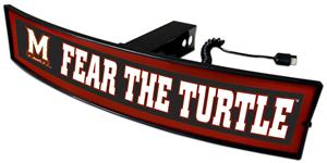 Fan Mats NCAA Fear The Turtle Light Up Hitch Cover