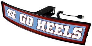 Fan Mats NCAA Go Heels Light Up Hitch Cover