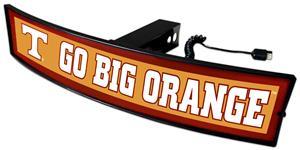 Fan Mats NCAA Go Big Orange Light Up Hitch Cover