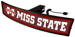 Fan Mats NCAA Mississippi St. Light Up Hitch Cover