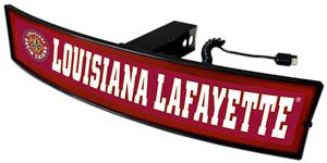 Fan Mats NCAA Louisiana Light Up Hitch Cover