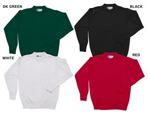Low Pill Acrylic Youth/Adult Crewneck Sweaters