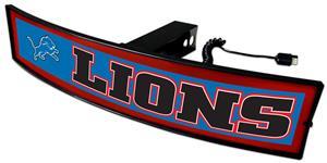 Fan Mats NFL Lions Light Up Hitch Cover