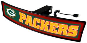 Fan Mats NFL Packers Light Up Hitch Cover