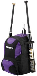 Worth 2-Bat Baseball/Softball Player Backpack