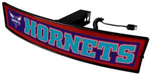 Fan Mats NBA Hornets Light Up Hitch Cover