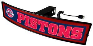 Fan Mats NBA Pistons Light Up Hitch Cover