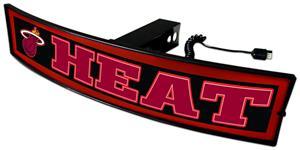 Fan Mats NBA Heat Light Up Hitch Cover
