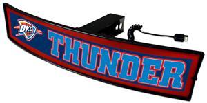 Fan Mats NBA Thunder Light Up Hitch Cover