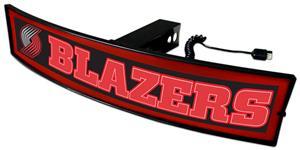 Fan Mats NBA Blazers Light Up Hitch Cover