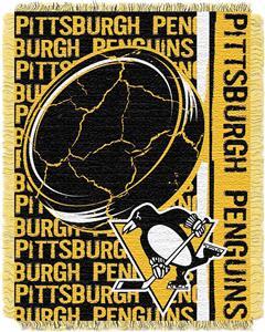 Northwest NHL Pittsburgh Penguins Jacquard Throw