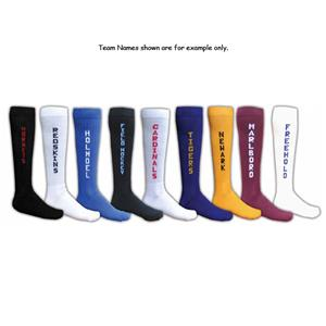 Red Lion TEAM NAME Athletic Socks-Irregular
