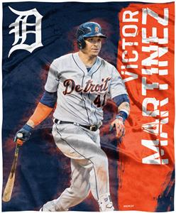 Northwest MLB Victor Martinez HD Silk Touch Throw