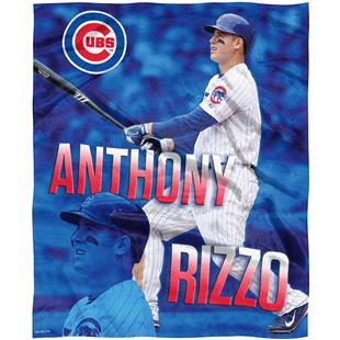 Northwest MLB Anthony Rizzo HD Silk Touch Throw