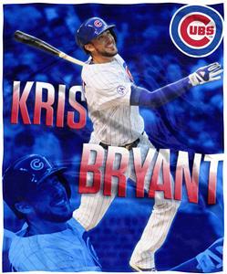 Northwest MLB Kris Bryant HD Silk Touch Throw
