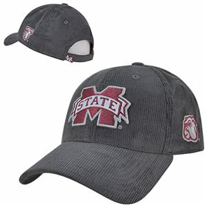 Mississippi State Univ Structured Corduroy Cap