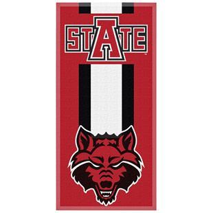 Northwest NCAA Arkansas St. Zone Read Beach Towel