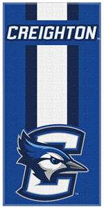 Northwest NCAA Creighton Zone Read Beach Towel