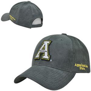 Appalachian State Univ Structured Corduroy Cap