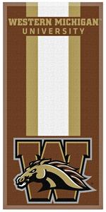 Northwest NCAA WMU Zone Read Beach Towel