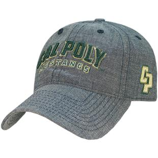 Cal State Poly Relaxed Denim Cap