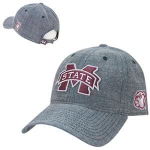 Mississippi State University Relaxed Denim Cap