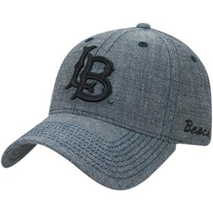Cal State Long Beach Structured Washed Denim Cap