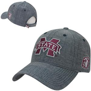 Mississippi State Univ Structured Washed Denim Cap