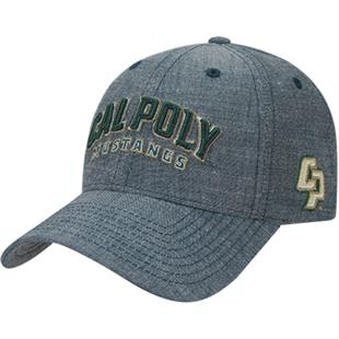 Cal State Poly Structured Washed Denim Cap