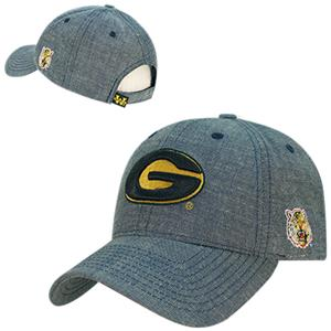 Grambling State Univ Structured Washed Denim Cap