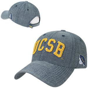 UC Santa Barbara Structured Washed Denim Cap