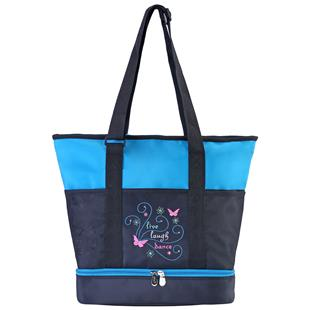 Sassi Designs Live, Laugh, Dance Large Tote