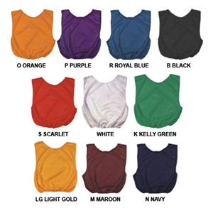 Poly Scrimmage Vests Youth/Adult