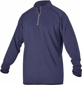 Alleson Adult/Youth Heather Gameday 1/4 Zip Jacket