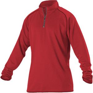 Alleson Womens Heather Gameday 1/4 Zip Jacket