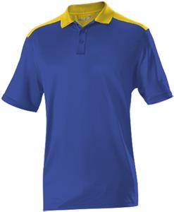 Alleson Adult Color Block Gameday Basic Polo