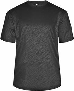 Badger Adult/Youth Line Embossed Tee