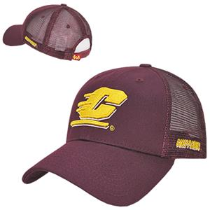 Central Michigan University Structured Trucker Cap