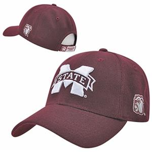 Mississippi State Univ Structured Acrylic Cap