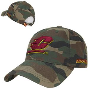 Central Michigan University Relaxed Camo Cap