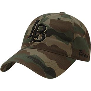 Cal State Long Beach Relaxed Camo Cap