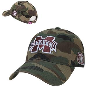 Mississippi State University Relaxed Camo Cap