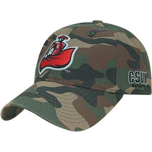 Cal State Northridge Relaxed Camo Cap