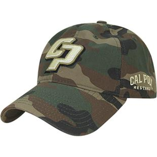 Cal State Poly Relaxed Camo Cap