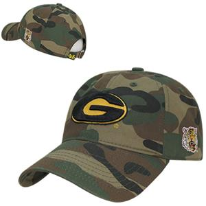 Grambling State University Relaxed Camo Cap