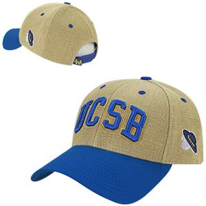 UC Santa Barbara Structured Jute Cap