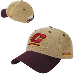 Central Michigan University Structured Jute Cap